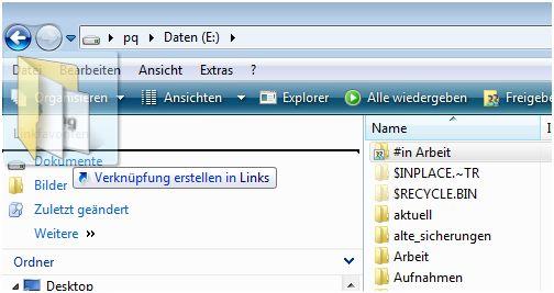 Dateien ordnen