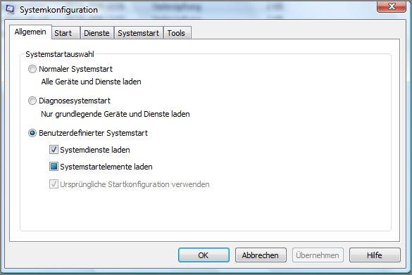 Systemkonfiguration-Allgemein