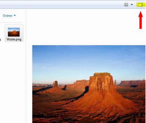 Dateivorschau direkt im Explorer verwenden